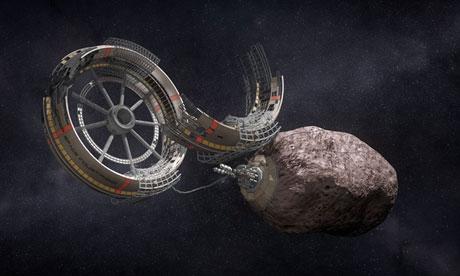 Crédito de la imagen: Deep Space Industries