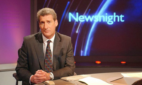 Jeremy Paxman (crédito de la fotografía: BBC)