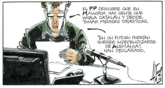 La conjura catalano-masónica-balear
