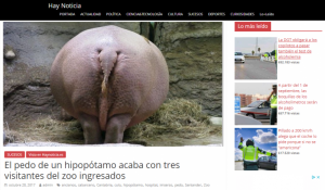 Pedo de hipopótamo y orina de camello