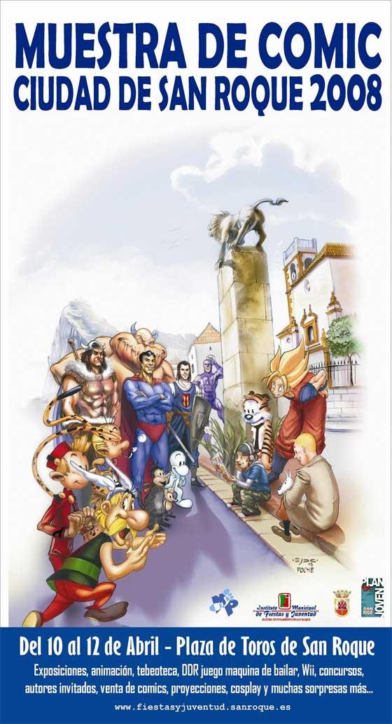 Muestra de Comics de Ciudad de San Roque 2008
