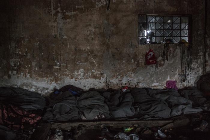 Belgrado, Serbia: refugiados en la estación de tren. (c) ACNUR España
