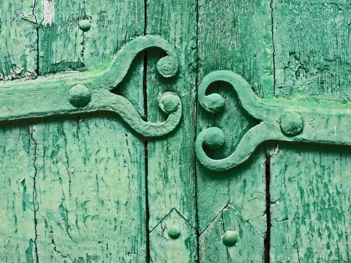 Detalle de una puerta. Foto: Marjon Kruirk / CC BY-NC-ND 2.0