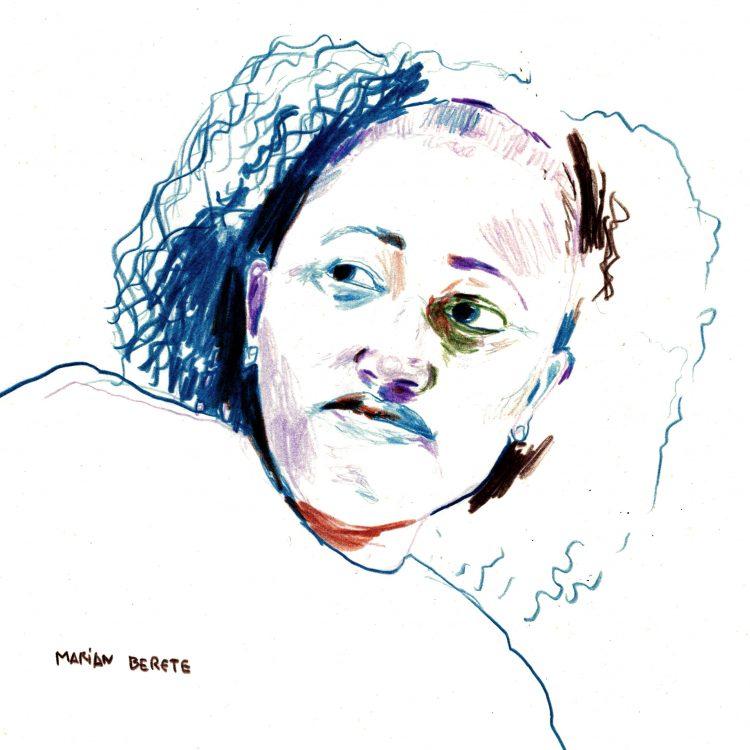 Retrato de Marian Berete por David Cardenas Lorenzo para la Fundación porCausa