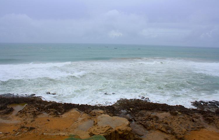 Vista al mar desde Tánger. Foto: Pilar Lucía López.