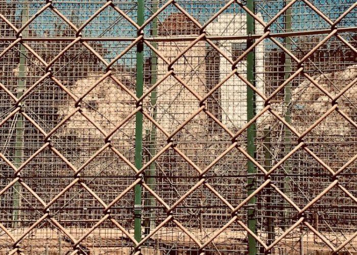 Triple valla fronteriza de Melilla. Foto: Lucila Rodríguez-Alarcón.