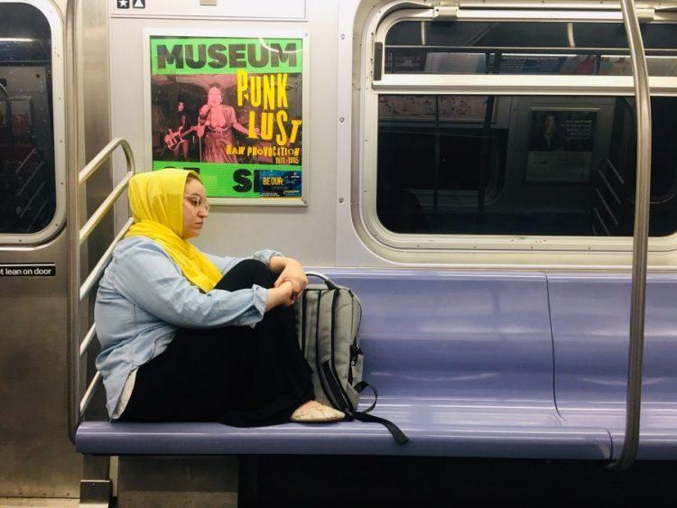 En el Metro de Nueva York (mayo de 2019). Foto: Lucila Rodríguez-Alarcón.