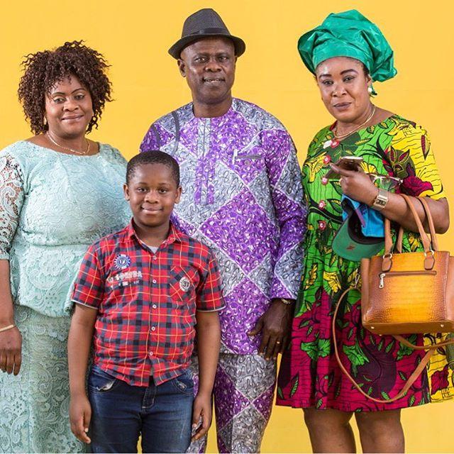 Posando con colores: proyecto fotográfico busca visibilizar cultura africana. Foto: Diego Padgurschi: