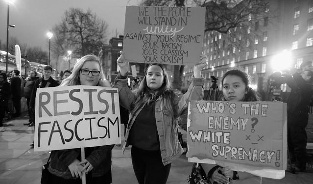 Manifestación contra Donald Trump en Londres (enero de 2017). Foto: Alisdare Hickson / CC BY-SA 2.0