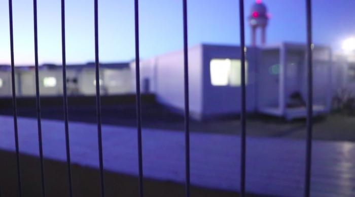 Campo de refugiados de Tempelhof (2018). Foto: Shalini Arias.