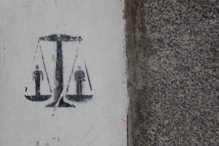 'Justicia', en el madrileño barrio de Lavapiés. Foto: Olga Berrios / CC BY 2.0