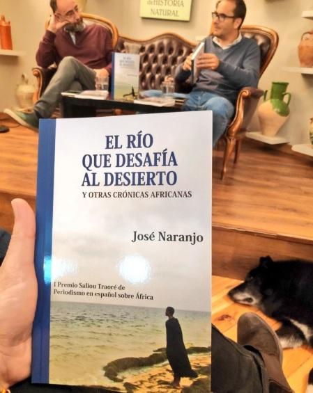 José Naranjo y David Jiménez en la presentación del libro / Foto: José Bautista
