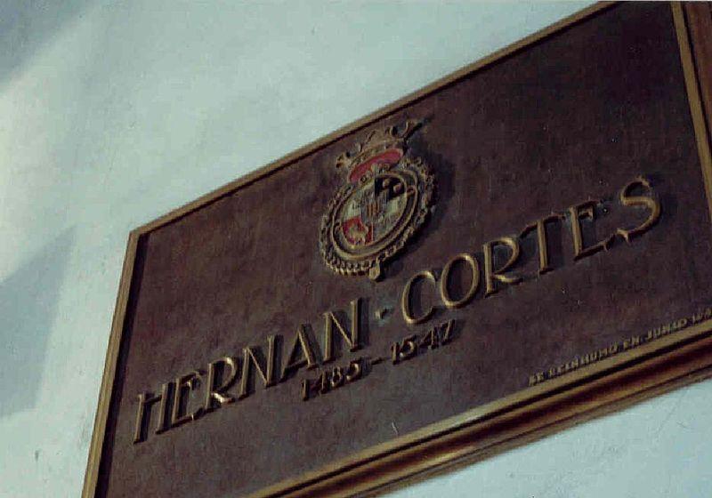 Tumba de Hernán Cortés. CC: Dominio público