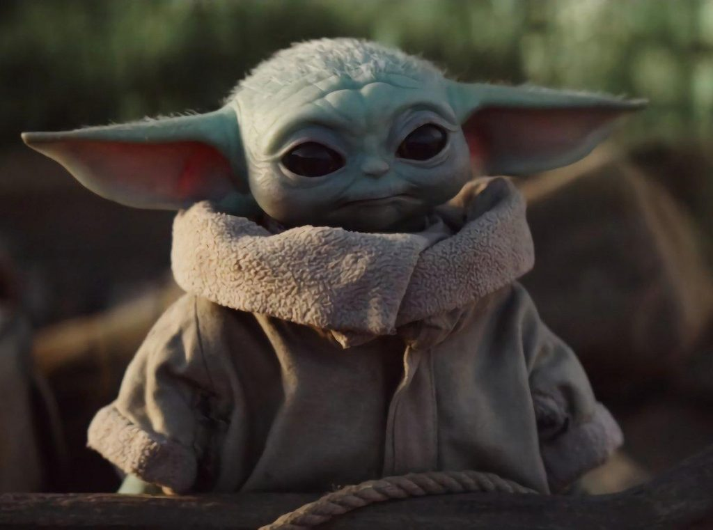 Baby yoda, the Mandalorian - Disney +