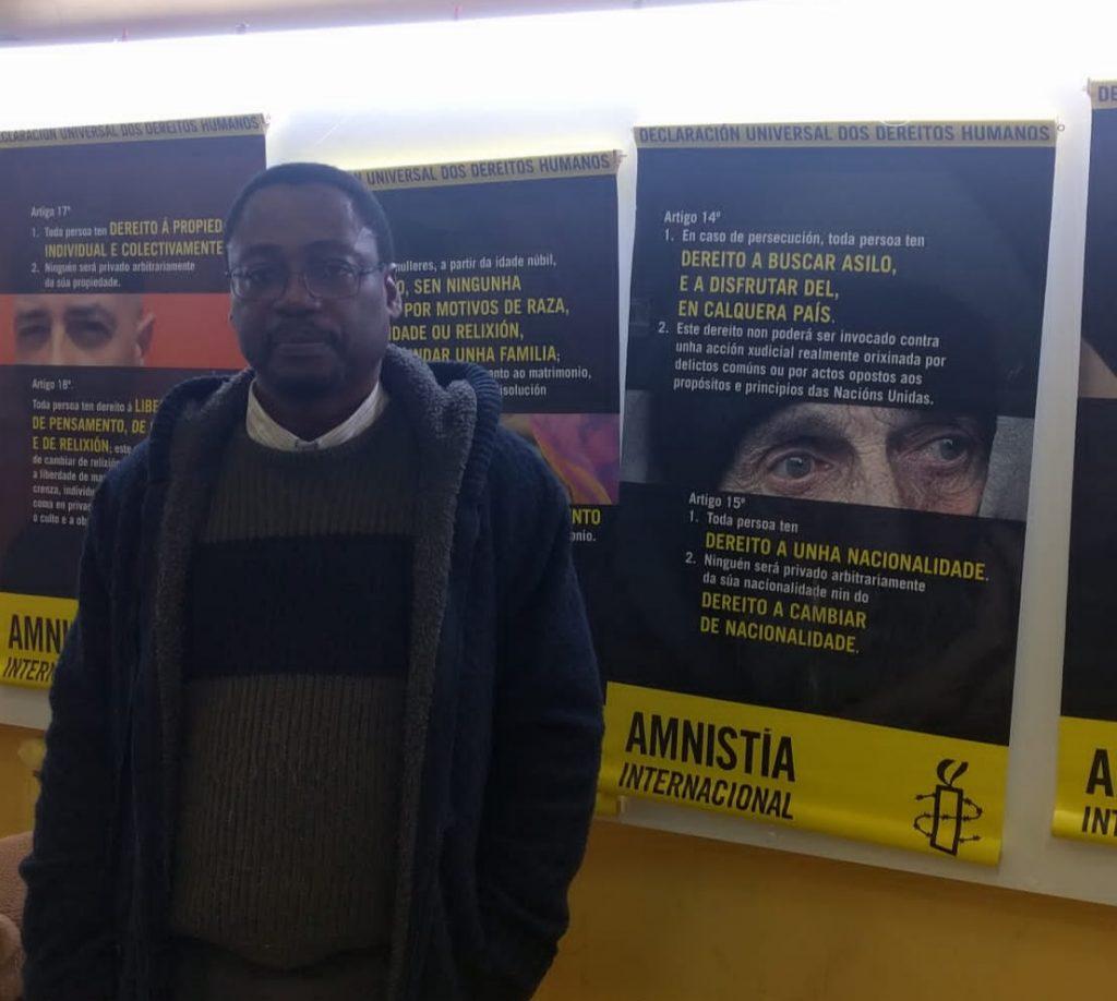 Fotografía de Alfredo Okenwe / Jaime Iglesias, Grupo de Acción de Amnistía Internacional Pontevedra