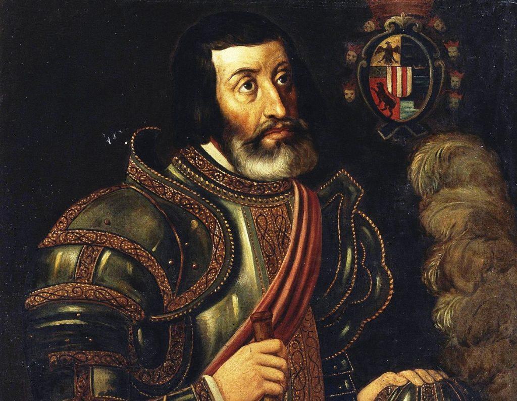 Hernán Cortés. CC: Dominio público
