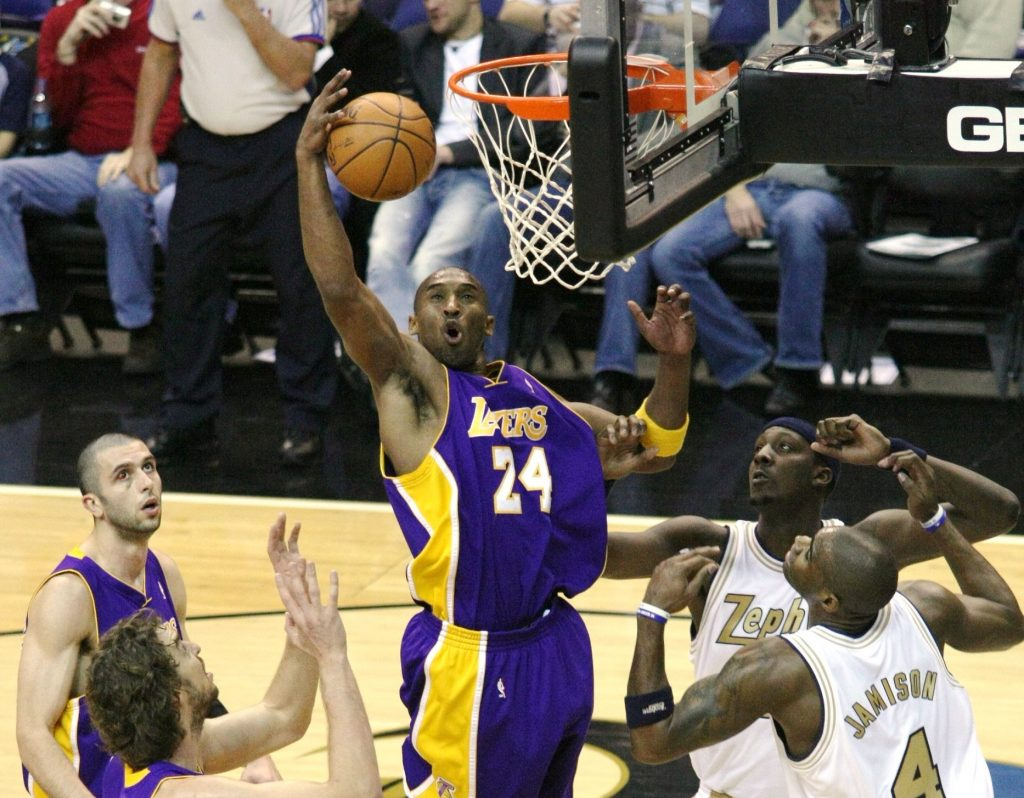Kobe Bryant, el migrante
