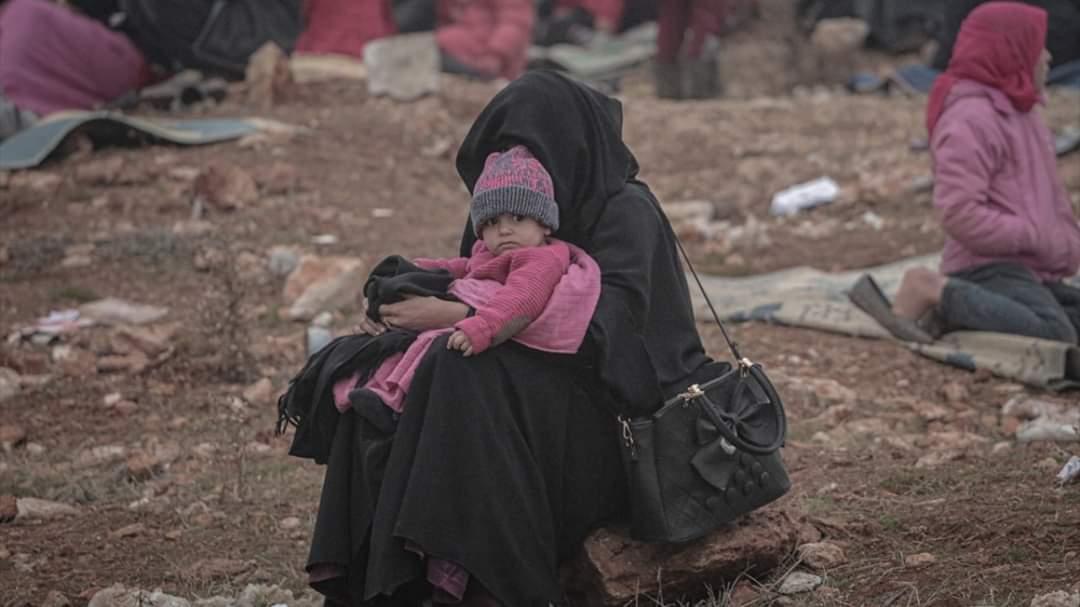 Los bombardeos de Idlib por Mohamed Saeed
