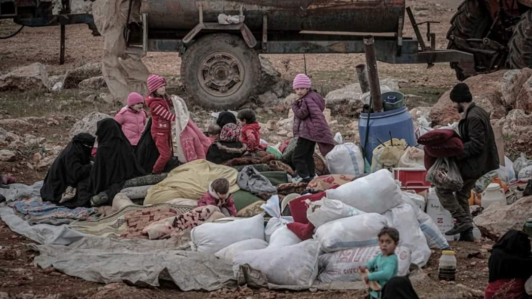 Muertos en los bombardeos de Idlib por Mohamed Saeed