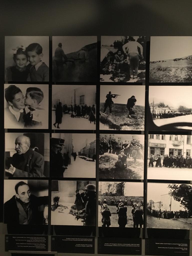 Odio entreguerras. Fotografía del Holocaust Memorial Center de Budapest.