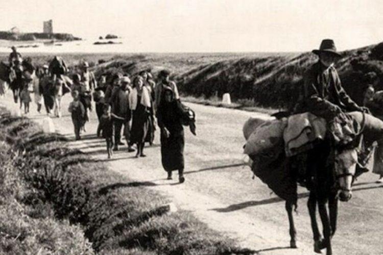 Imagen de 'la Desbandá', febrero de 1937