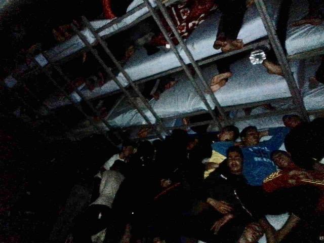 Fotos del interior de La Purísima (Melilla) filtradas por voluntarias el pasado 5 de marzo