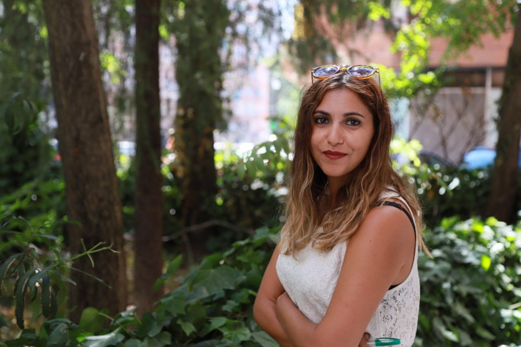 Dina Bousselham. Fotografía de Diego Martín Azpeitia (@Azpeitia_dm)