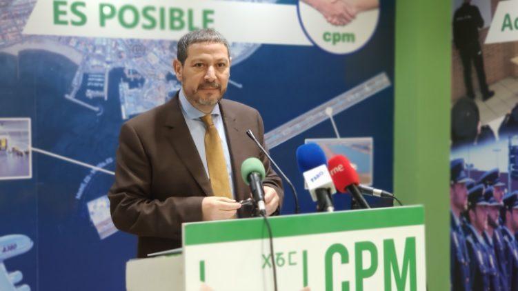Mustafa Hamed Moh Mohamed Aberchán, presidente de Coalición por Melilla. Fotografía cedida