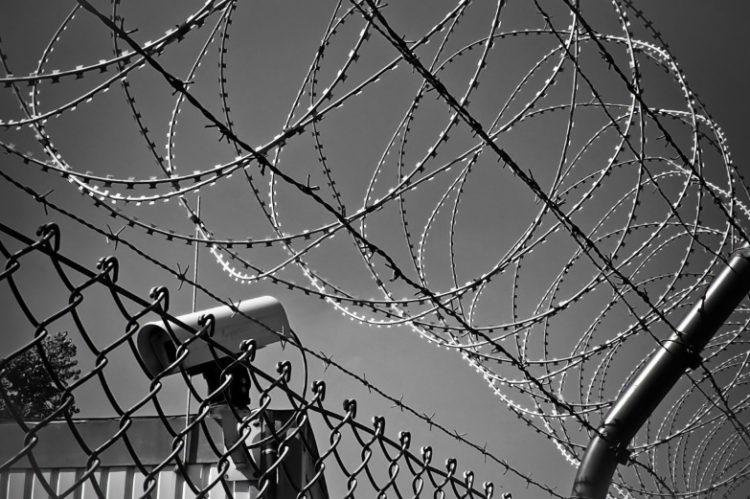 Cámara de vigilancia fronteriza. Imagen de dominio público