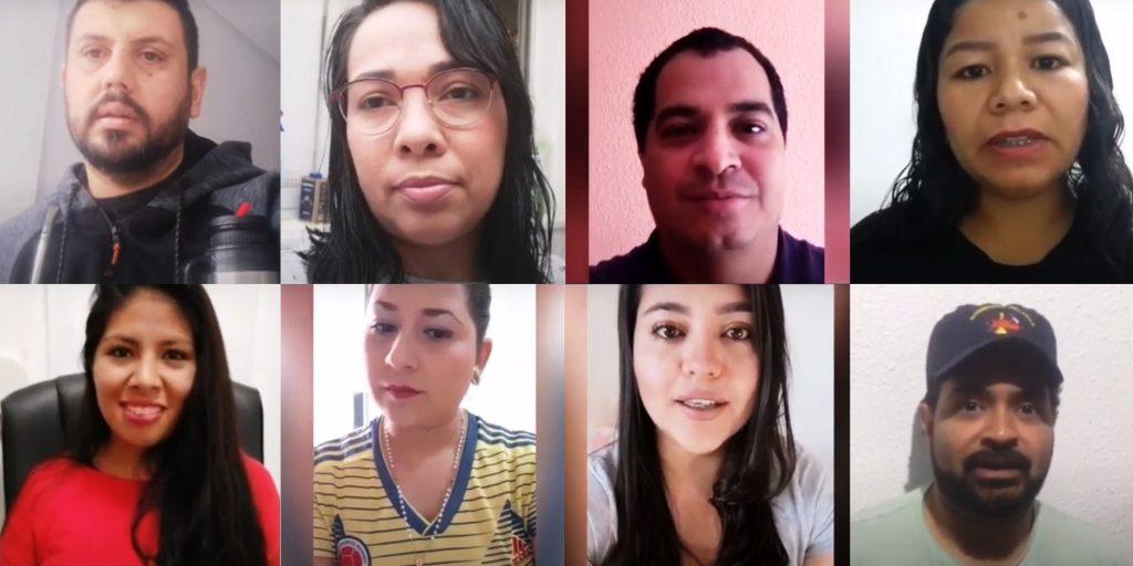 """Lucas Ferraz y otros profesionales sanitarios piden en un vídeo que se les deje ejercer su profesión para paliar la crisis sanitaria en la campaña """"ayúdanos a ayudar"""""""