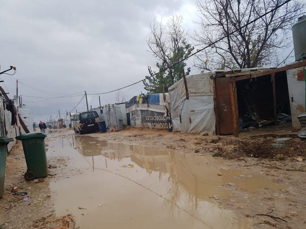 Asentamientos de refugiados en el Líbano, en el distrito de Zahle. Fotografía: Pablo Sánchez Parada