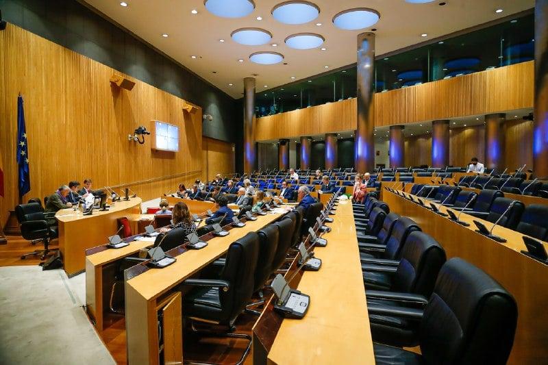 Vista general de la Comisión para la Reconstrucción Social y Económica. Foto: Congreso de los Diputados.