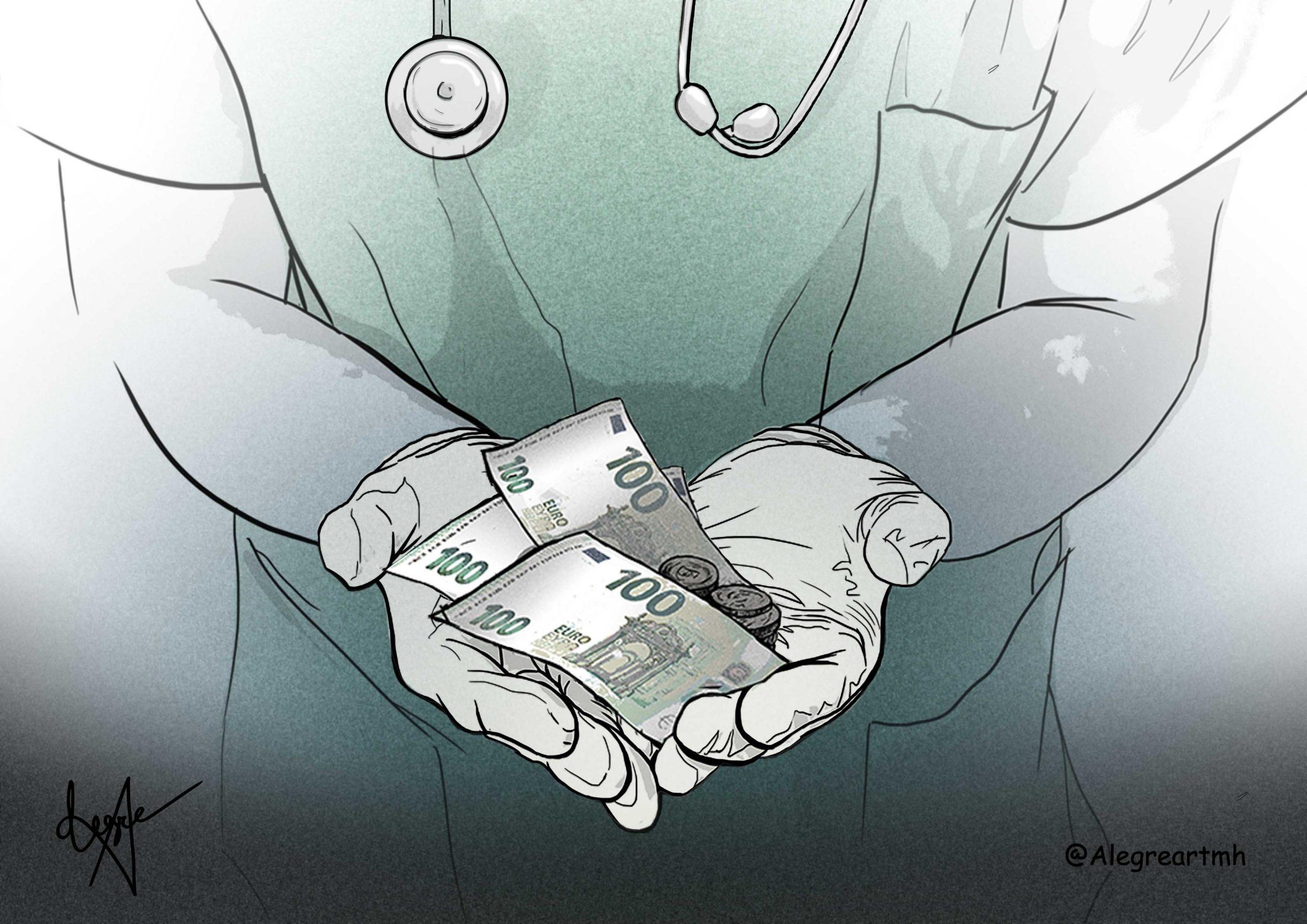 Sanidad, dinero.