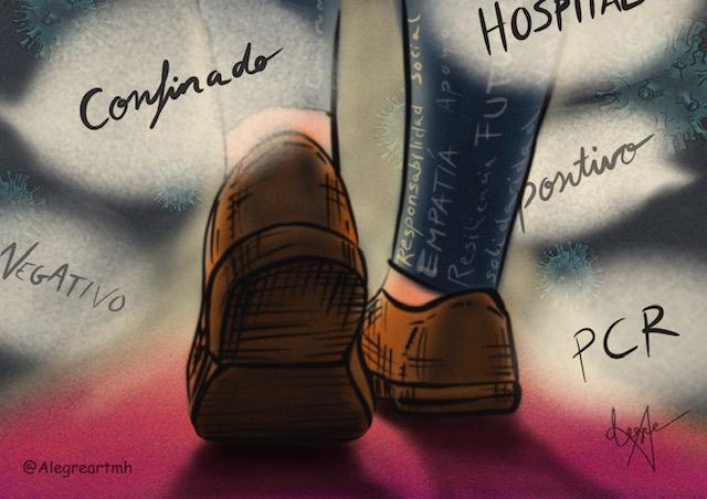 Ilustración de Verónica Montón Alegre. Artista interdisciplinar.