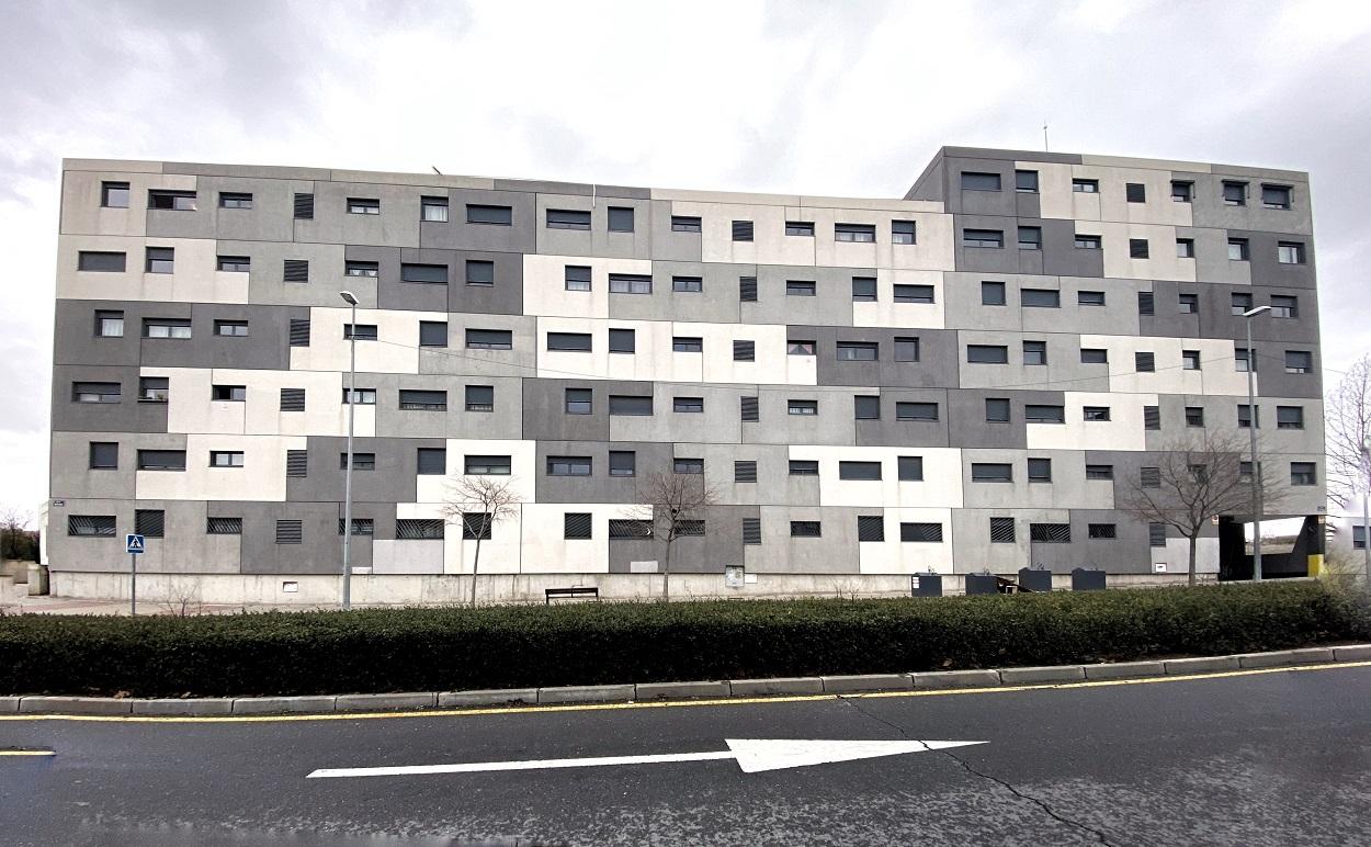 Edificio de viviendas en Madrid. E.P./Eduardo Parra