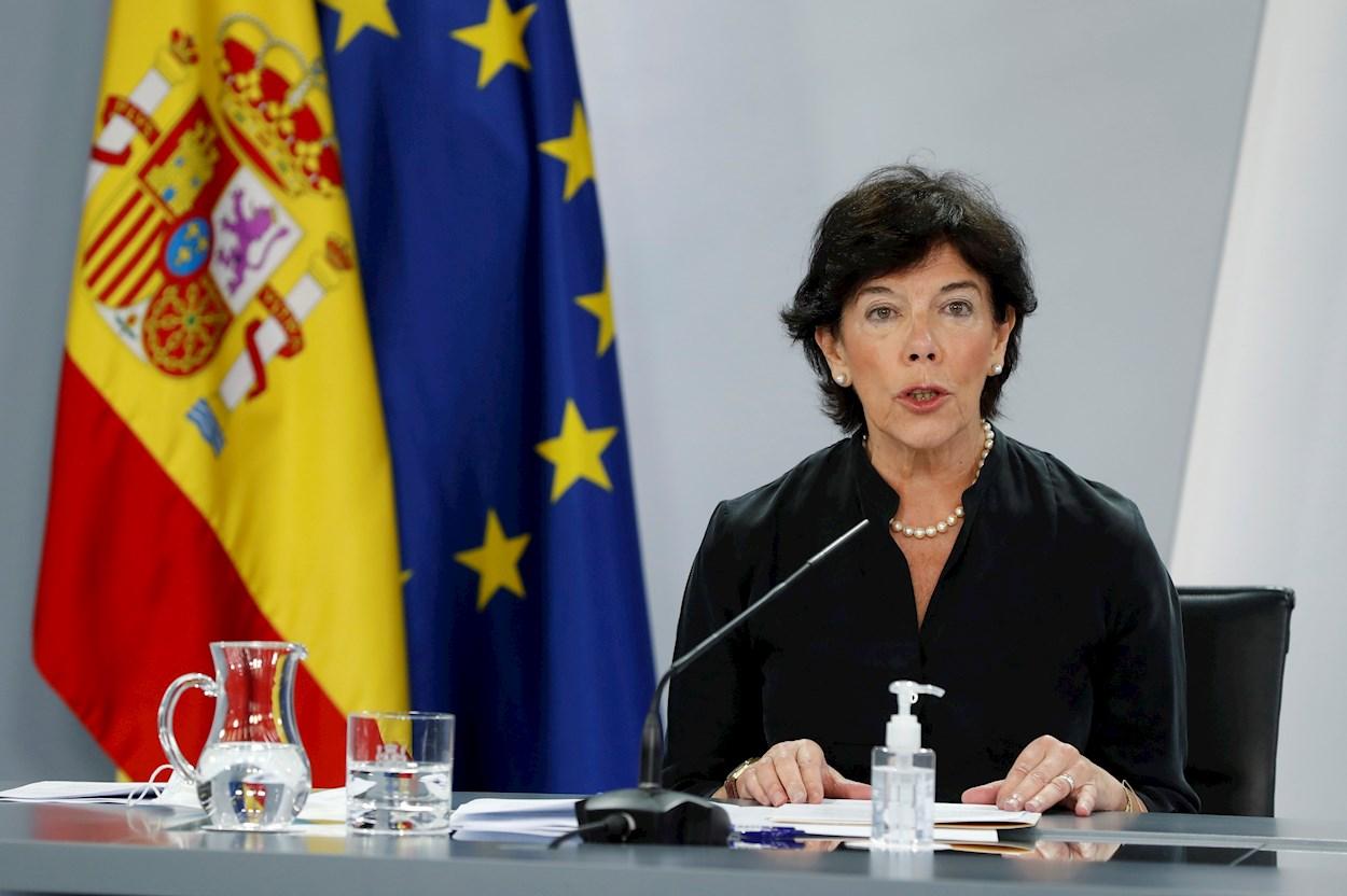 La ministra de Educación, Isabel Celaá. EFE/J.J. Guillén/Archivo