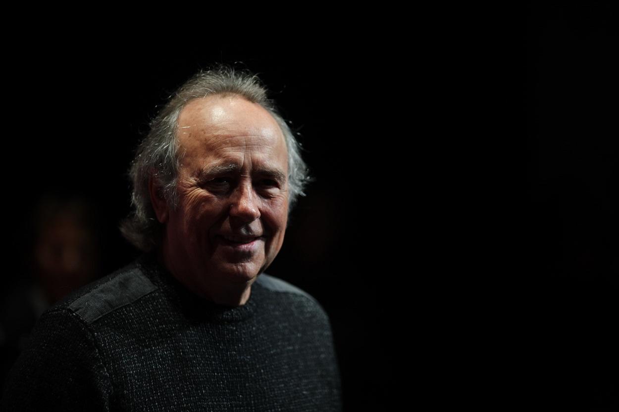 El cantante Joan Manuel Serrat, en una rueda de prensa en Madrid. E.P./Eduardo Parra