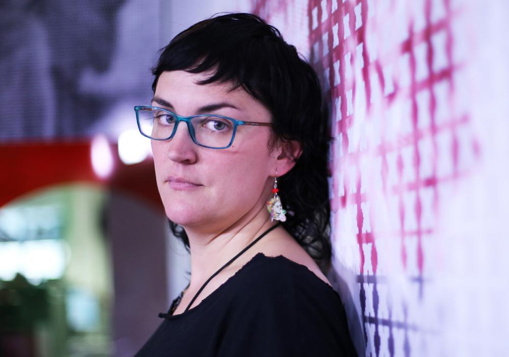 La monologuista Pamela Palenciano. CHRISTIAN GONZÁLEZ.