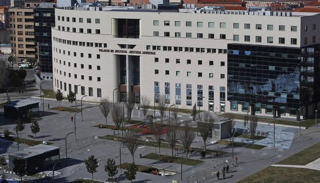 Audiencia Provincial de Navarra (archivo). - EFE