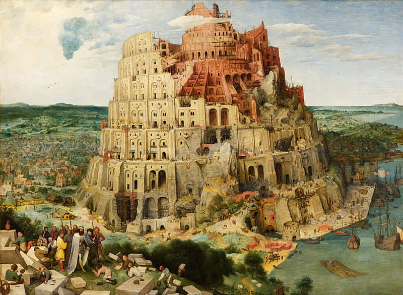 'La torre de Babel' de Pieter Brueghel el Viejo