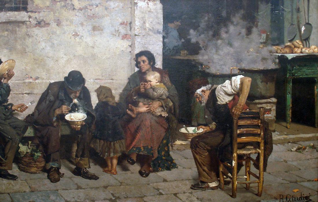 'La sopa de los pobres' de Reinaldo Giudici