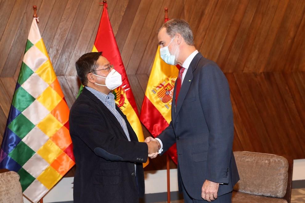 Bolivia (y la foto de Felipe VI) escuece a la derecha