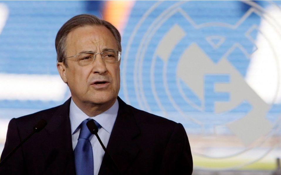 Florentino Pérez, presidente del Real Madrid.- EFE