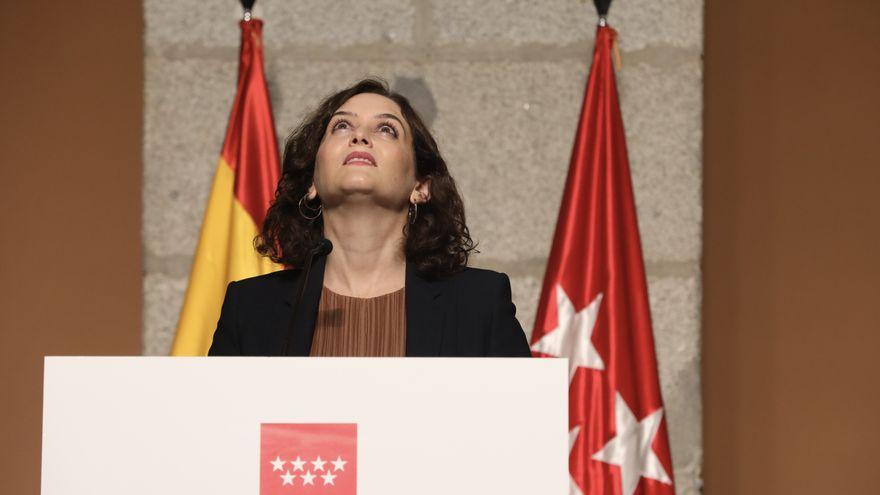 La presidenta de la Comunidad de Madrid, Isabel Díaz Ayuso. — EUROPA PRESS