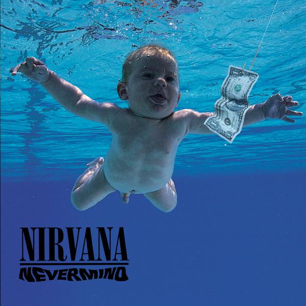 Portada del disco 'Nevermind' de Nirvana