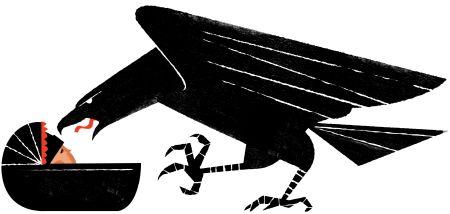 Ilustración de Iker Ayestaran en Público