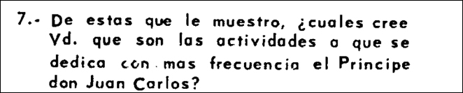 Cuestionario de noviembre de 1971