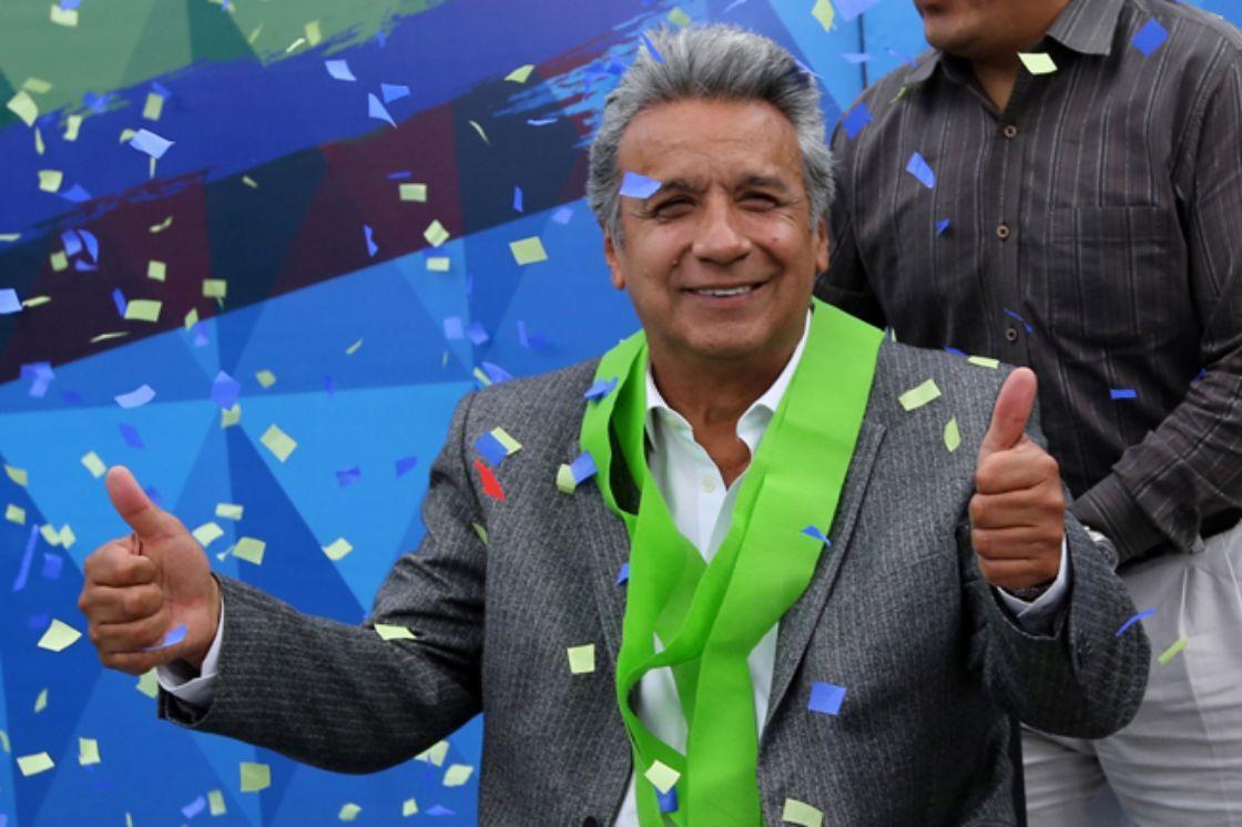 El presidente de Ecuador, Lenin Moreno. REUTERS