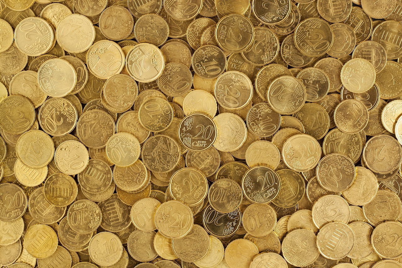 Monedas de céntimos de euro. PIXABAY