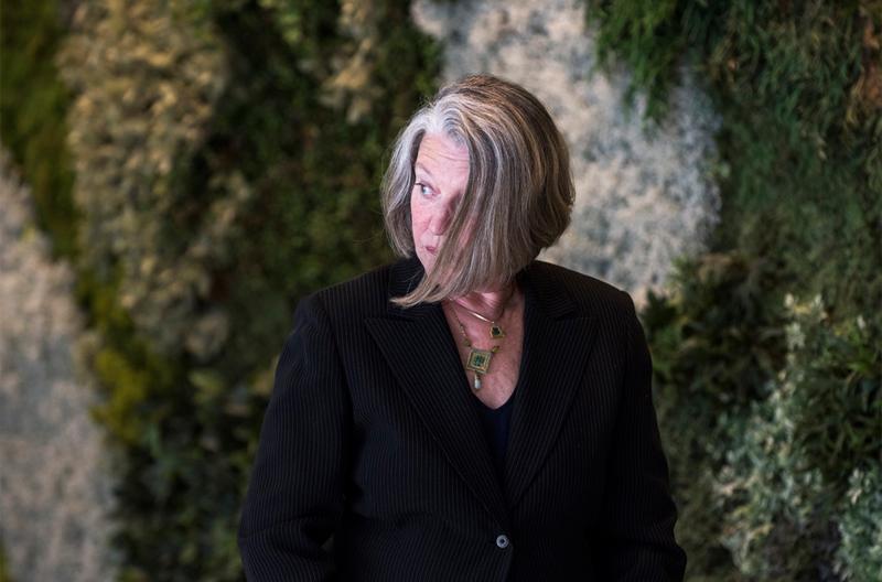 La la filósofa y feminista Nancy Fraser.  FERNANDO SÁNCHEZ